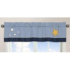 Ocean Blue Window Valance