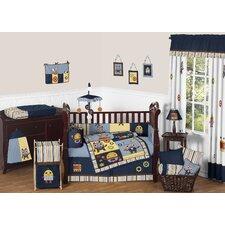 Robot 9 Piece Crib Bedding Set