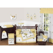 Honey Bee 9 Piece Crib Bedding Set
