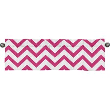 "Chevron 54"" Curtain Valance"