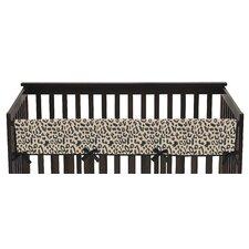 Animal Safari Long Crib Rail Guard Cover