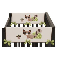 Forest Friends Side Crib Rail Guard Cover (Set of 2)