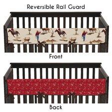 Wild West Long Crib Rail Guard Cover