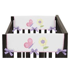 Butterfly Side Crib Rail Guard Cover (Set of 2)