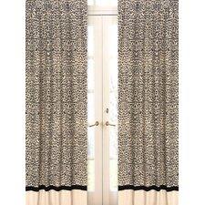 Animal Safari Curtain Panels (Set of 2)