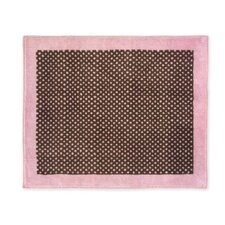Pink & Brown Area Rug