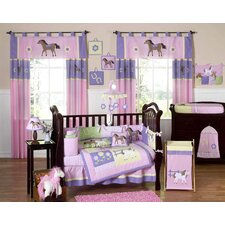 Pony 9 Piece Crib Bedding Set