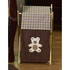 Teddy Bear Chocolate Laundry Hamper