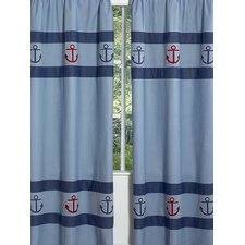 Nautical Nights Curtain Panels (Set of 2)