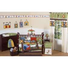 Jungle Time 9 Piece Crib Bedding Set