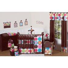 Deco Dot 9 Piece Crib Bedding Set