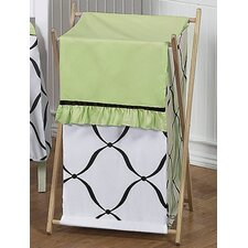 Princess Black, White and Green Laundry Hamper
