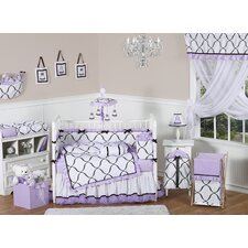 Princess 9 Piece Crib Bedding Set