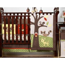 Forest Friends 9 Piece Crib Bedding Set