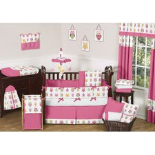Night Owl 9 Piece Crib Bedding Set