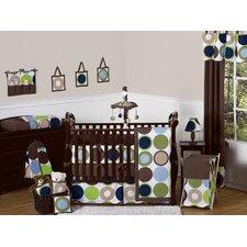 Designer Dot 9 Piece Crib Bedding Set