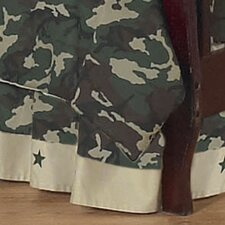 Camo Toddler Bed Skirt