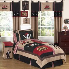 Pirate Treasure Cove Kid Bedding Collection