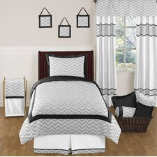 Zig Zag 4 Piece Twin Bedding Set