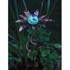 Palm Illuminaries Glow in The Dark Stake with Globe (Set of 4)
