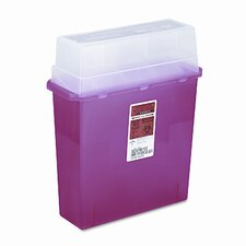 1.25-Gal Patient Room Sharps Container