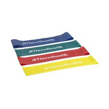 Thera Band Resistance Band Loop (Set of 4)