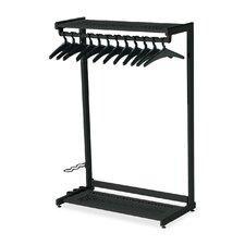 61.5'' H x 48'' W 2 Shelf Garment Rack