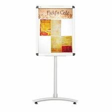 Clip-Frame Pedestal Sign