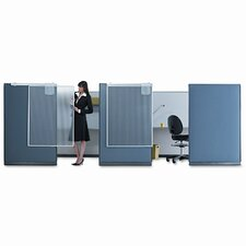 Workstation Privacy Screen, 36w x 48h