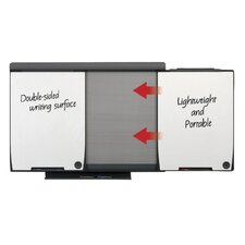 Conference System Mobile Wall Mounted Whiteboard, 3' x 5'