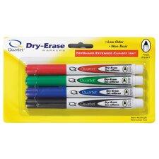 4 Count Assorted Fine Tip Dry Erase Marker (Set of 2)