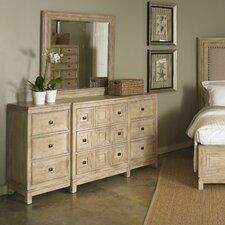 Ventura 9 Drawer Dresser with Mirror