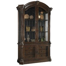 Whiskey Display China Cabinet
