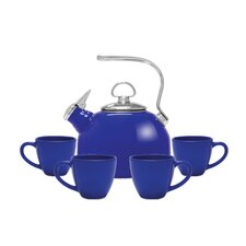 5 Piece 1.8 qt. Tea Kettle Set
