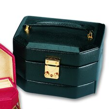 Lizard Grain Ladies Travel Case