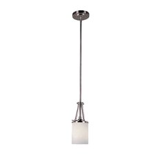 ES Nickel Knob 1 Light Pendant