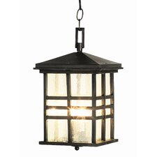2 Light Outdoor Hanging Lantern