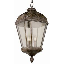 4 Light Outdoor Hanging Lantern