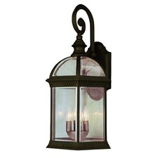 Outdoor 3 Light Wall Lantern
