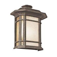 Corner Windows 1 Light Wall Lantern