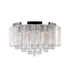 Veiled Modern 8 Light Flush Mount