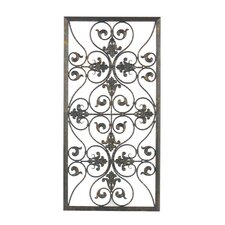 Forged Grille Wall Décor