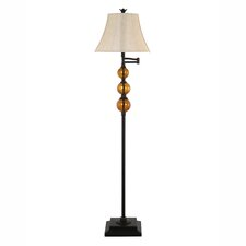 "Swingarm 61"" Floor Lamp"