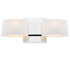 Clio 2 Light Wall Sconce