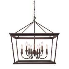 Davenport 9 Light Candle Chandelier