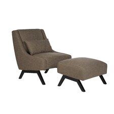 Robb Slipper Chair & Ottoman