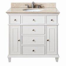 "Windsor 37"" Single Bathroom Vanity Set"