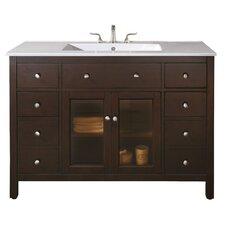 "Lexington 48"" Single Bathroom Vanity Set"