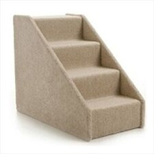 Large Solid Side 4 Step Pet Stair