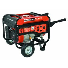 Elite 7.0 Hp 4,400 Watt Gasoline Generator with Wheel Kit